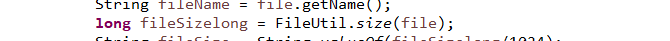 Java中获取文件大小,极简单