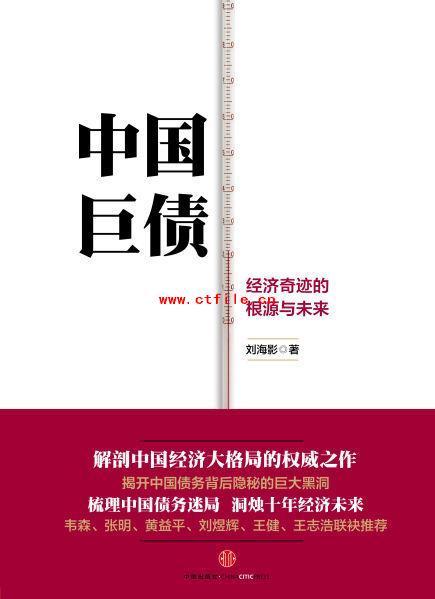 《中国巨债:经济奇迹的根源与未来》PDF电子书下载